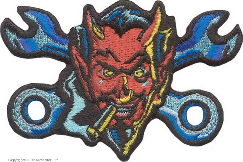 Нашивка Дьявол с ключами