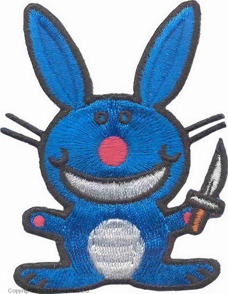 Крутой кролик с ножом (большой)