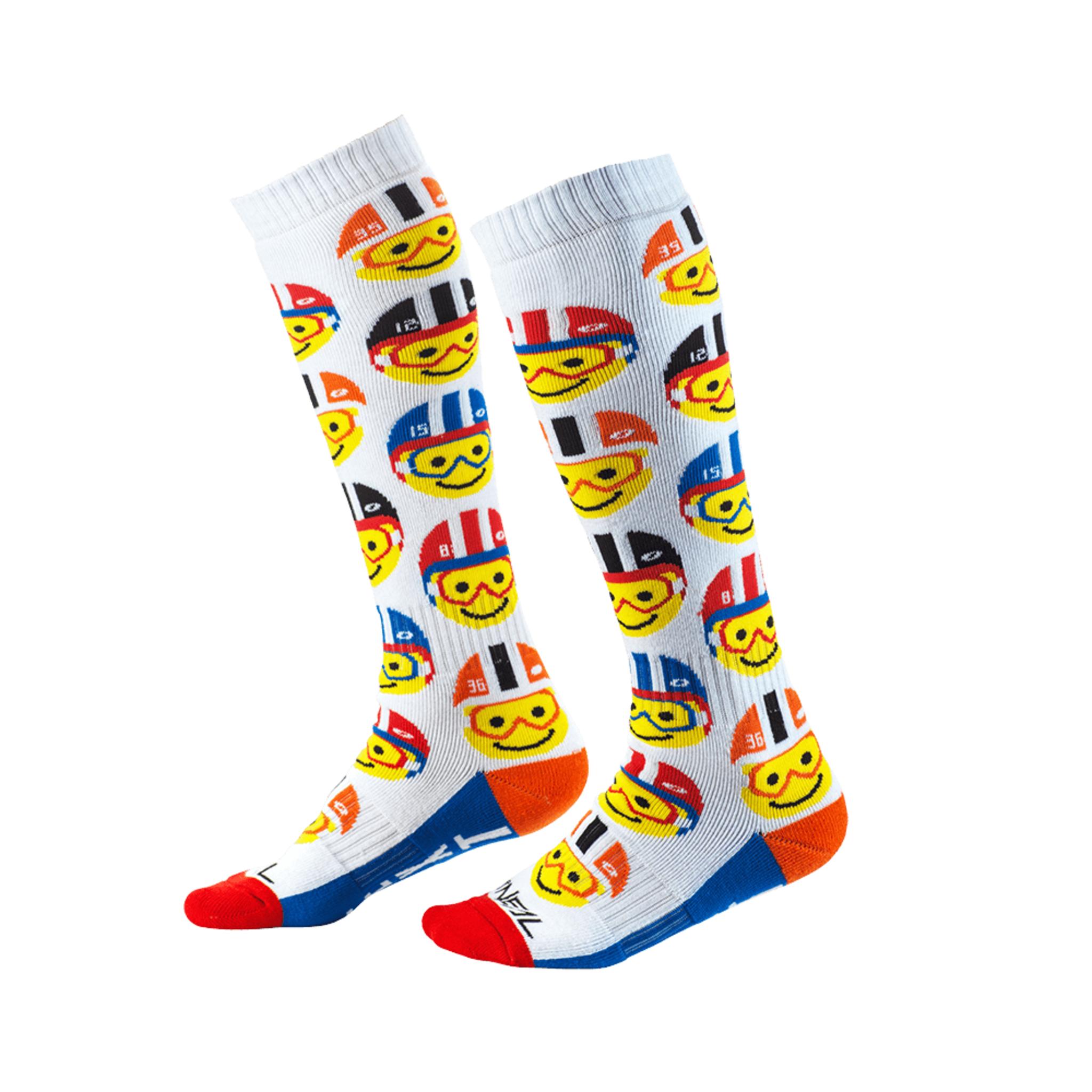 Носки для мотокросса Pro Mx Emoji Racer