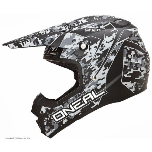 Кроссовый шлем 5Series DIGI CAMO серый