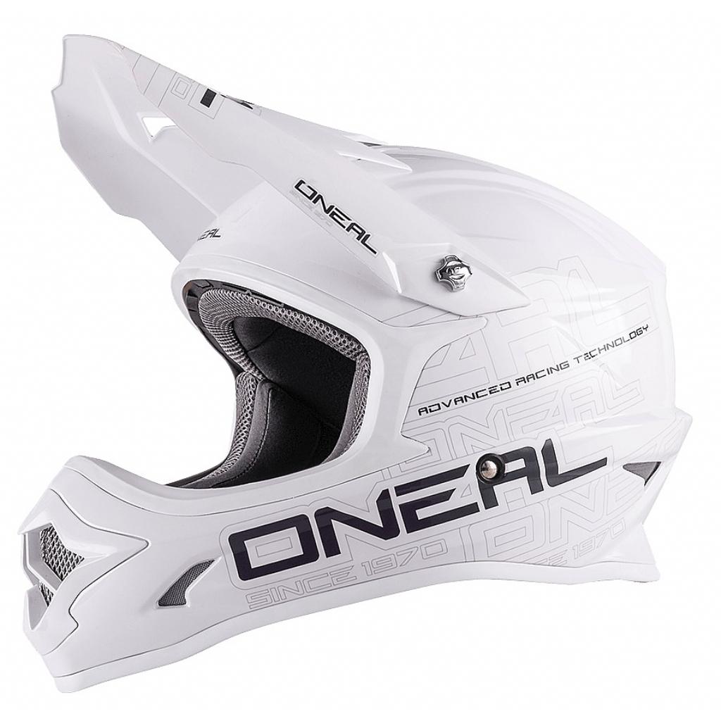 Кроссовый шлем 3Series SOLID белый
