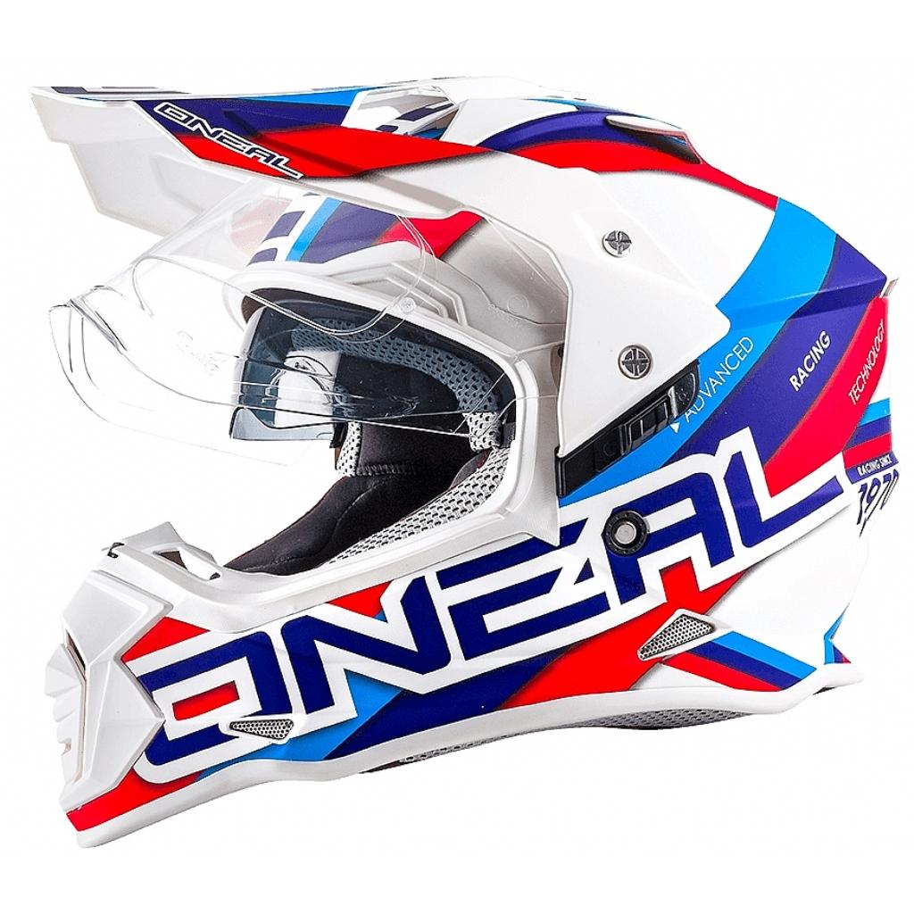 Шлем кроссовый со стеклом Sierra II CIRCUIT