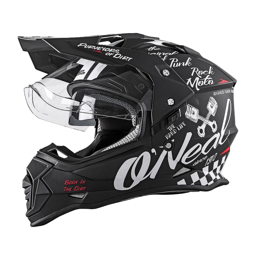 Шлем кроссовый со стеклом Sierra II TORMENT