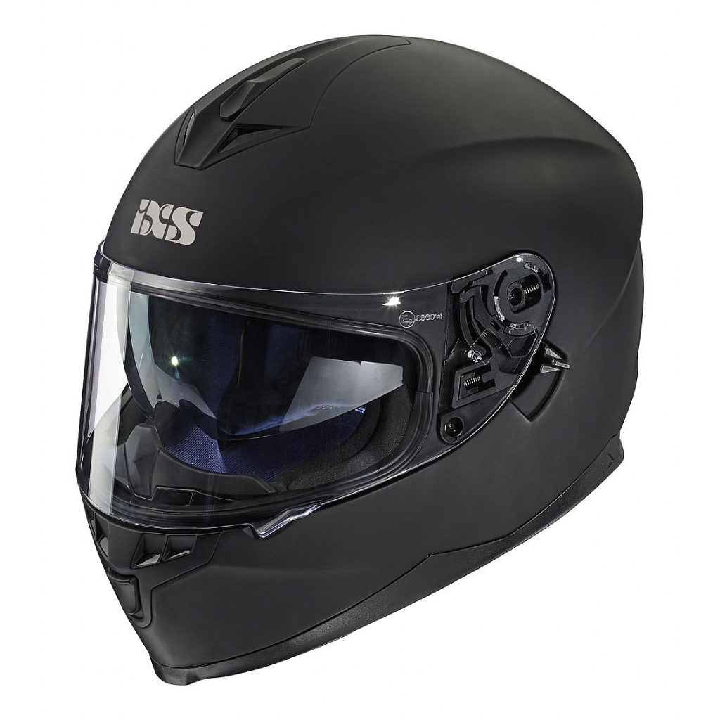 Шлем интеграл HX 1100 черный матовый