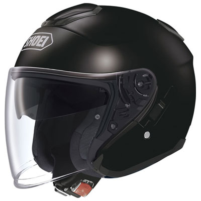 Шлем SHOEI J-Cruise Plain черный глянцевый