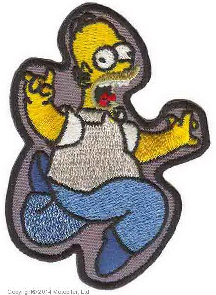 Гомер Симпсон с термоклеем.
