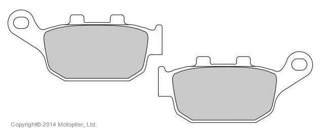 Тормозные колодки для мотоцикла FDB 2258