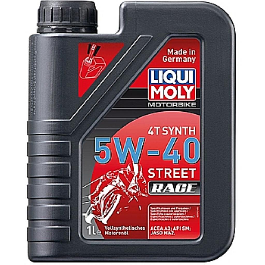Моторное масло Motorrad Synth  4T 5W-40  1л и 4л