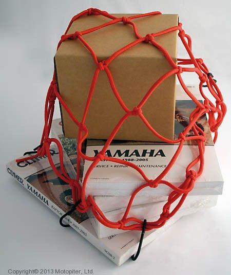 Сетка для багажа (паук) красная