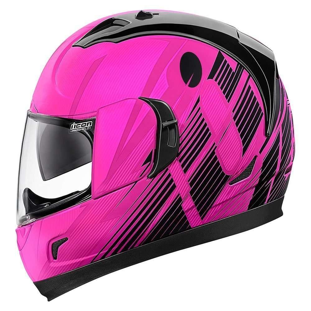Icon Alliance GT Primary розовый мотошлем