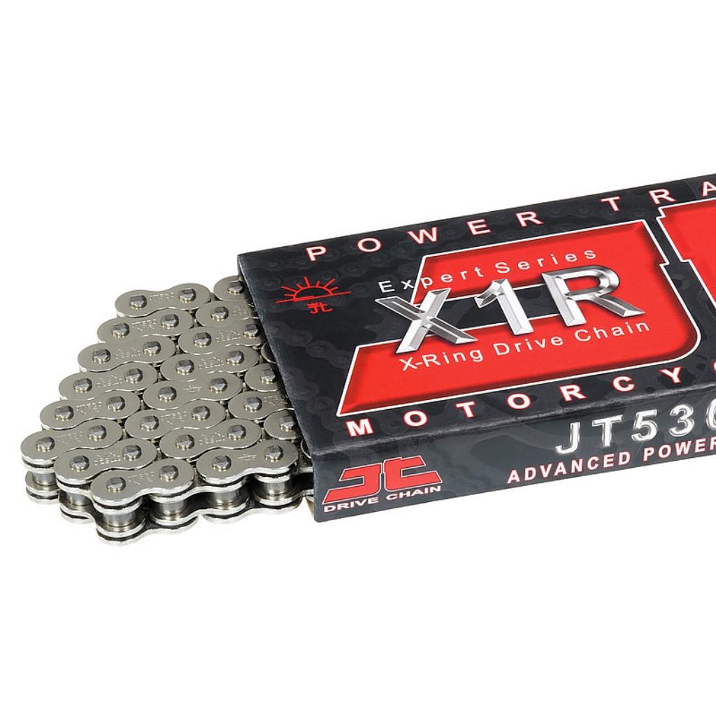 Цепь приводная 530,116 звеньев, сальники XRing (JT 530X1R-NN116)