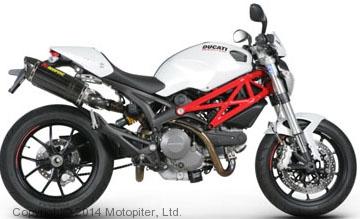 Модель мотоцикла 1:12 Ducati Monster 796