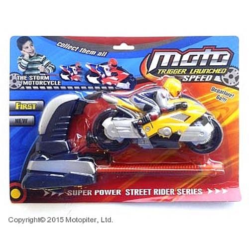 Модель мотоцикла с запуском