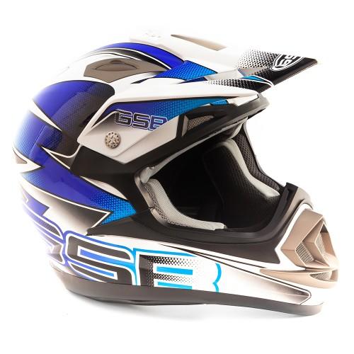 Шлем GSB XP-14 PRO RACE BLUE