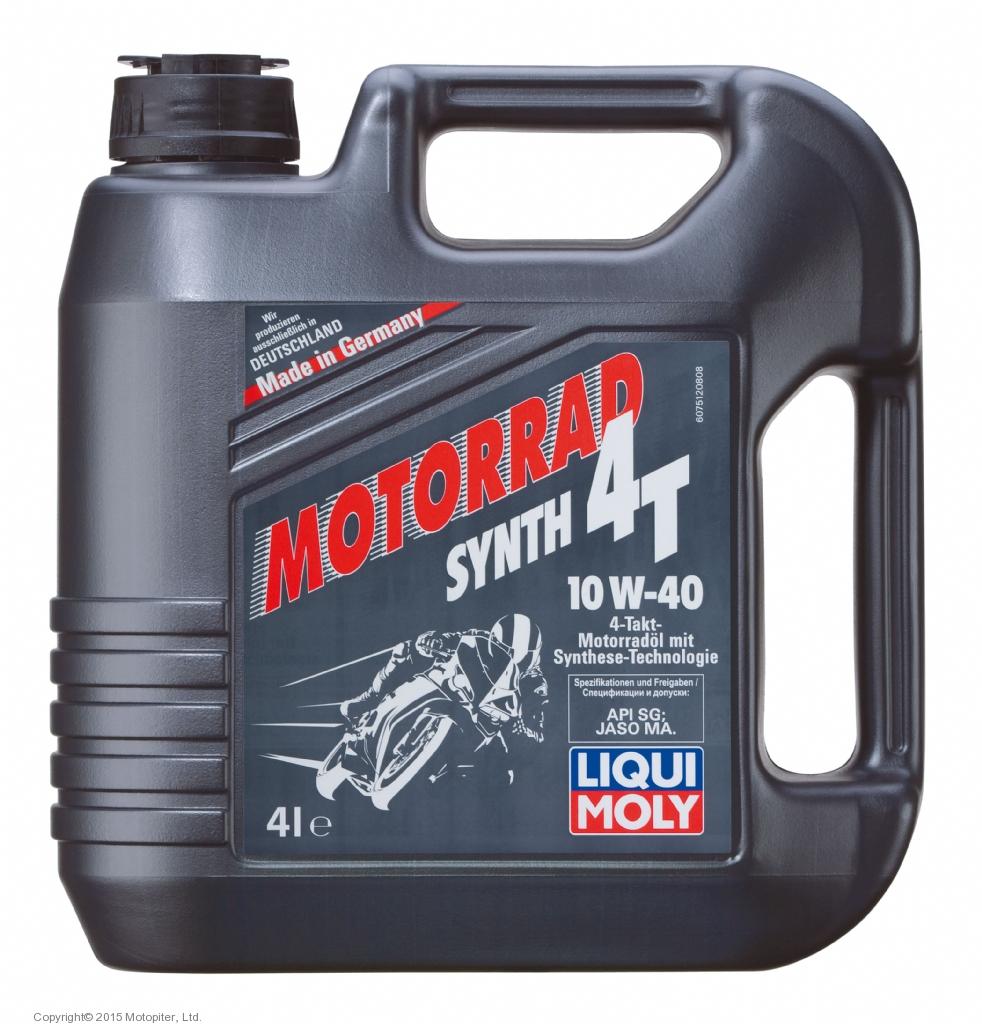 Масло моторное LIQUIMOLY 10W-40 4Т, 4 л. (7512)