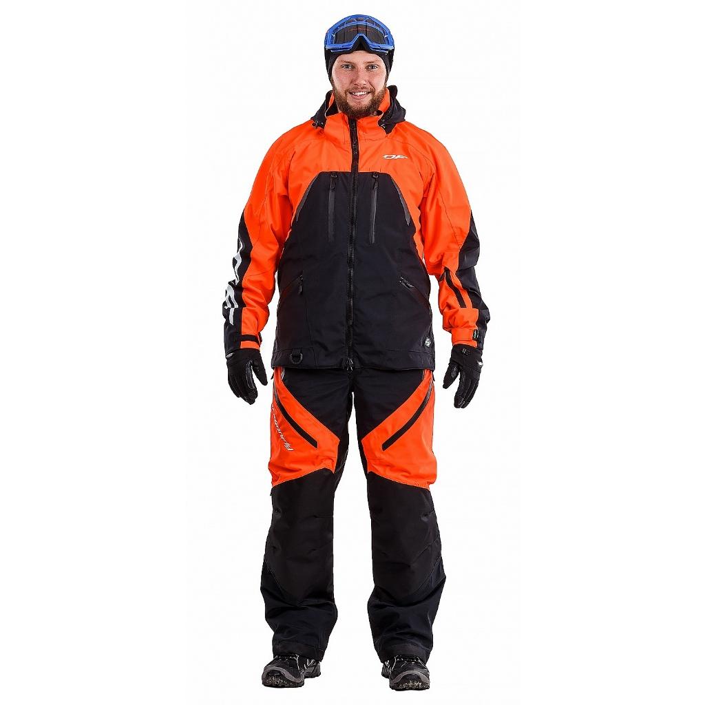 Снегоходная куртка Sport 2019 Black-Orange