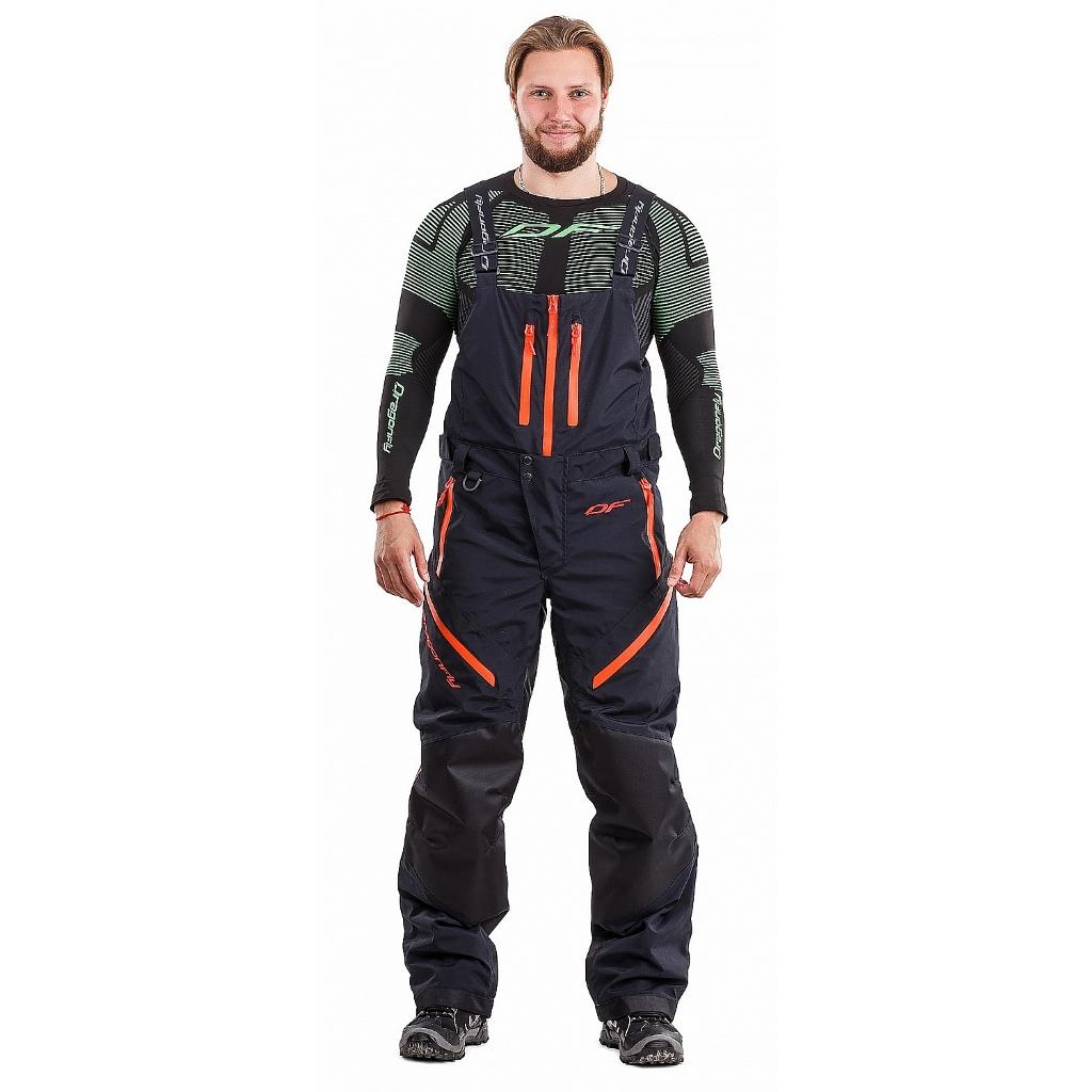 Снегоходные штаны Sport Black-Red 2019