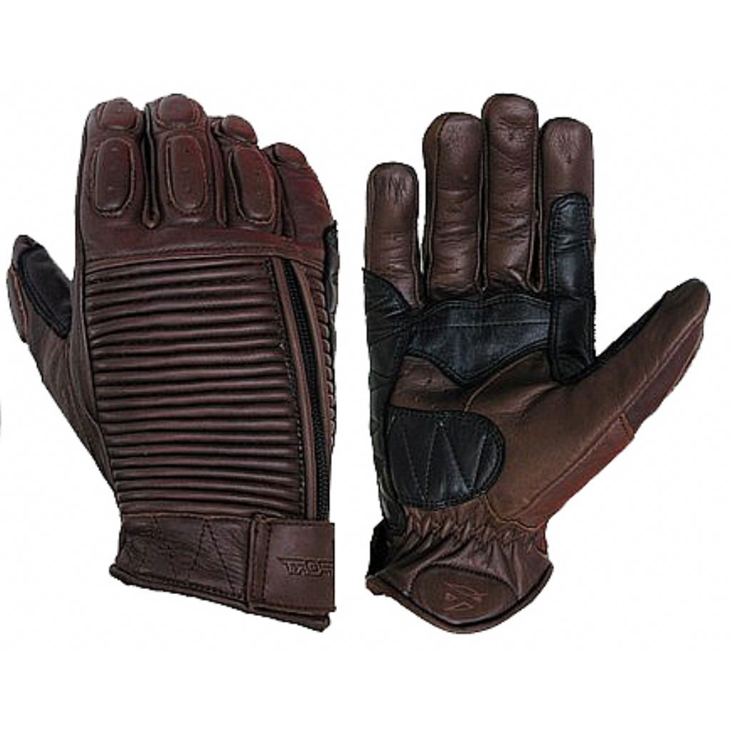 Кожаные перчатки MECHANIC