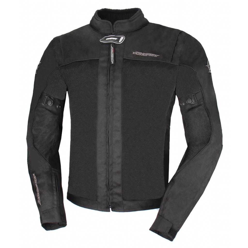 Текстильная куртка Jerez черная