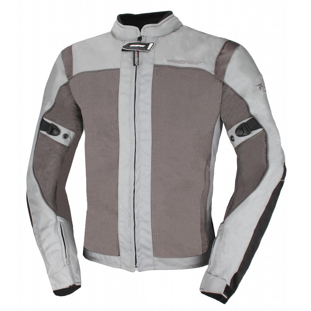 Текстильная куртка Jerez, серая/антрацит