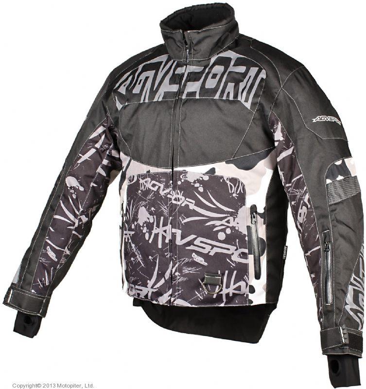 Снегоходная куртка Taiga, черная.