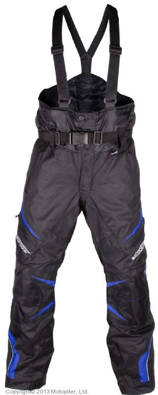 Снегоходные штаны Arсtic, черный\синий