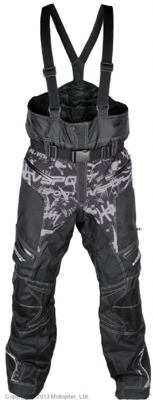 Снегоходные штаны Taiga, черные.