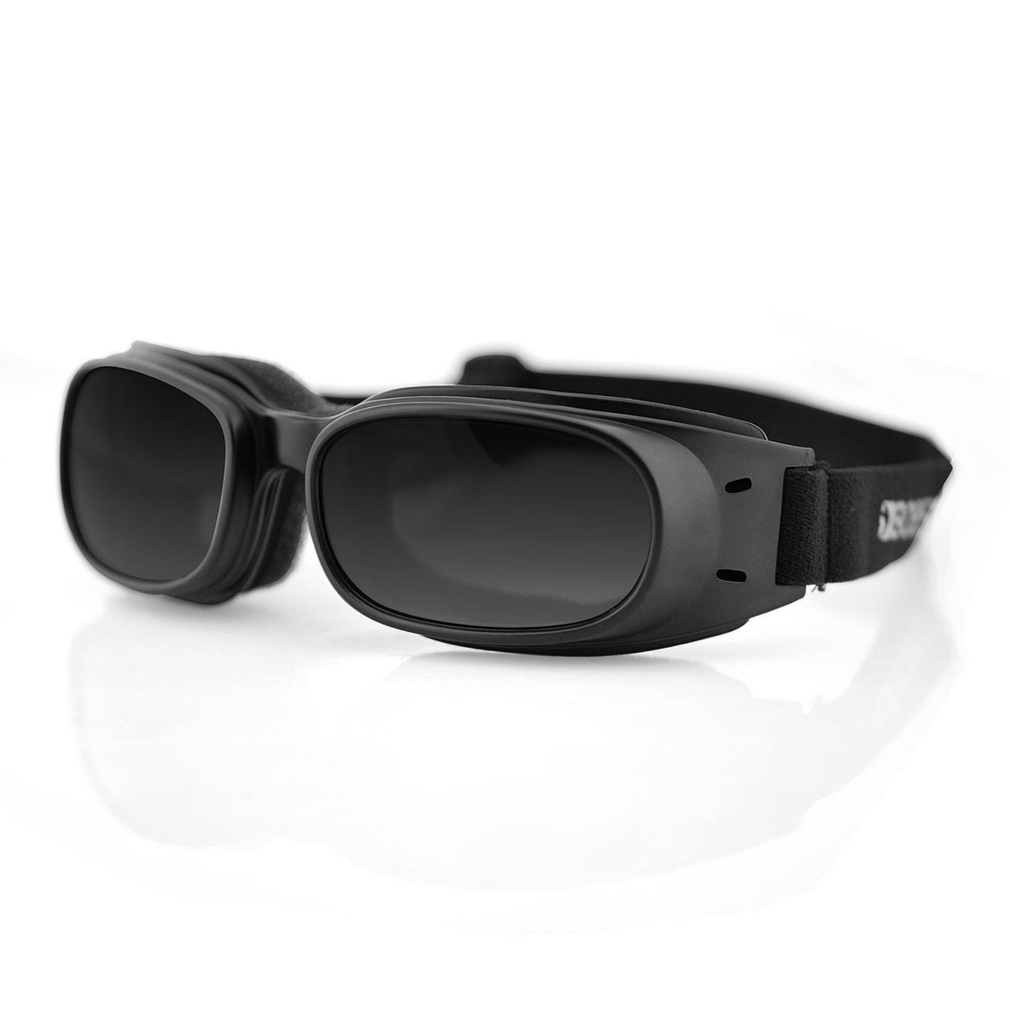Очки Piston чёрные с дымчатыми линзами