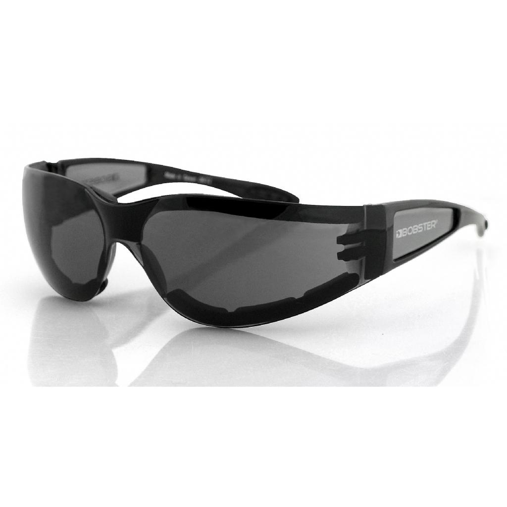 Очки Shield II чёрные с дымчатыми линзами