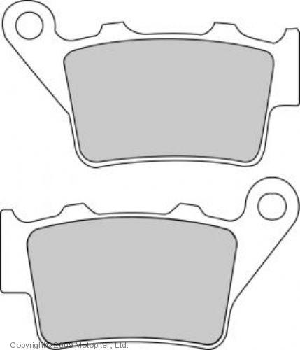 Тормозные колодки для мотоцикла FDB2005