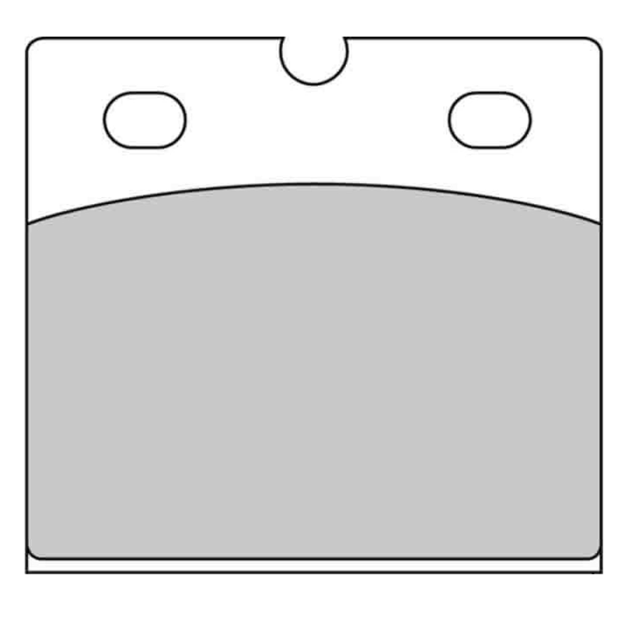 Тормозные колодки дисковые, FERODO(FDB108P)