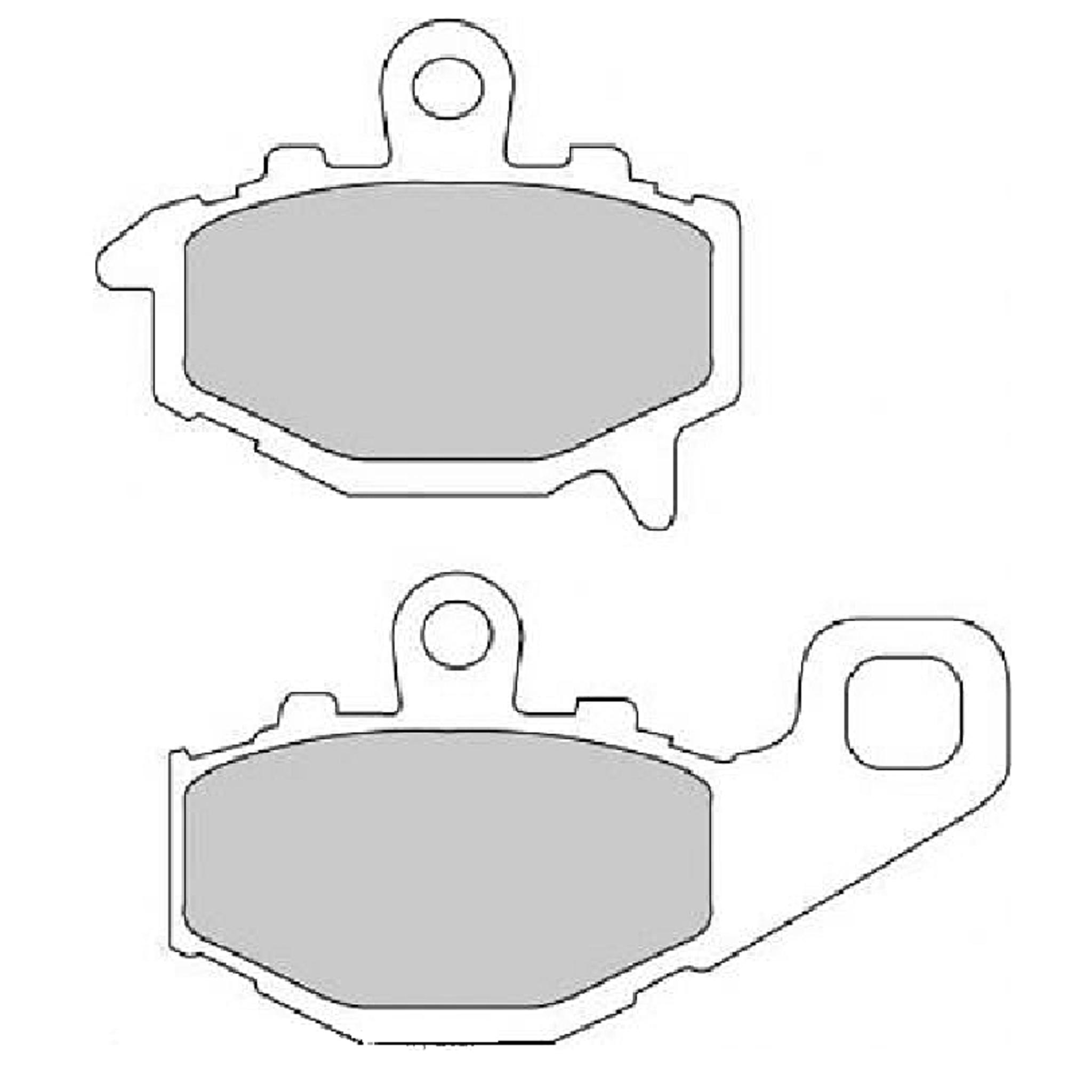 Тормозные колодки дисковые, FERODO(FDB2012P)