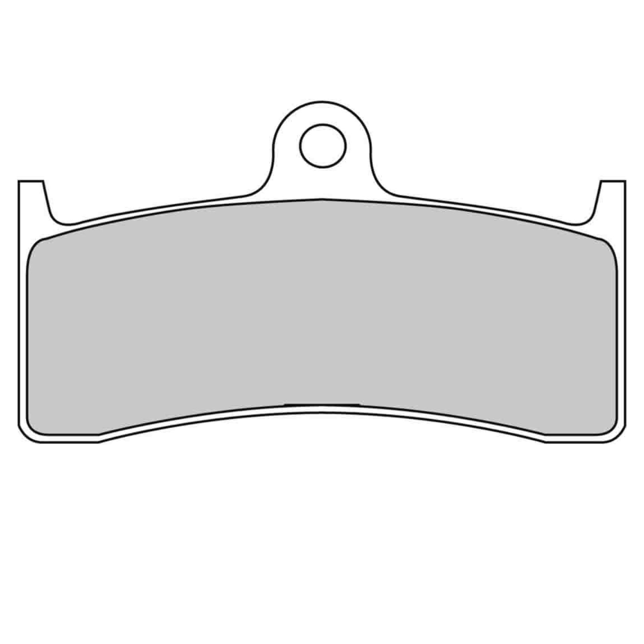Тормозные колодки дисковые, FERODO(FDB2036P)