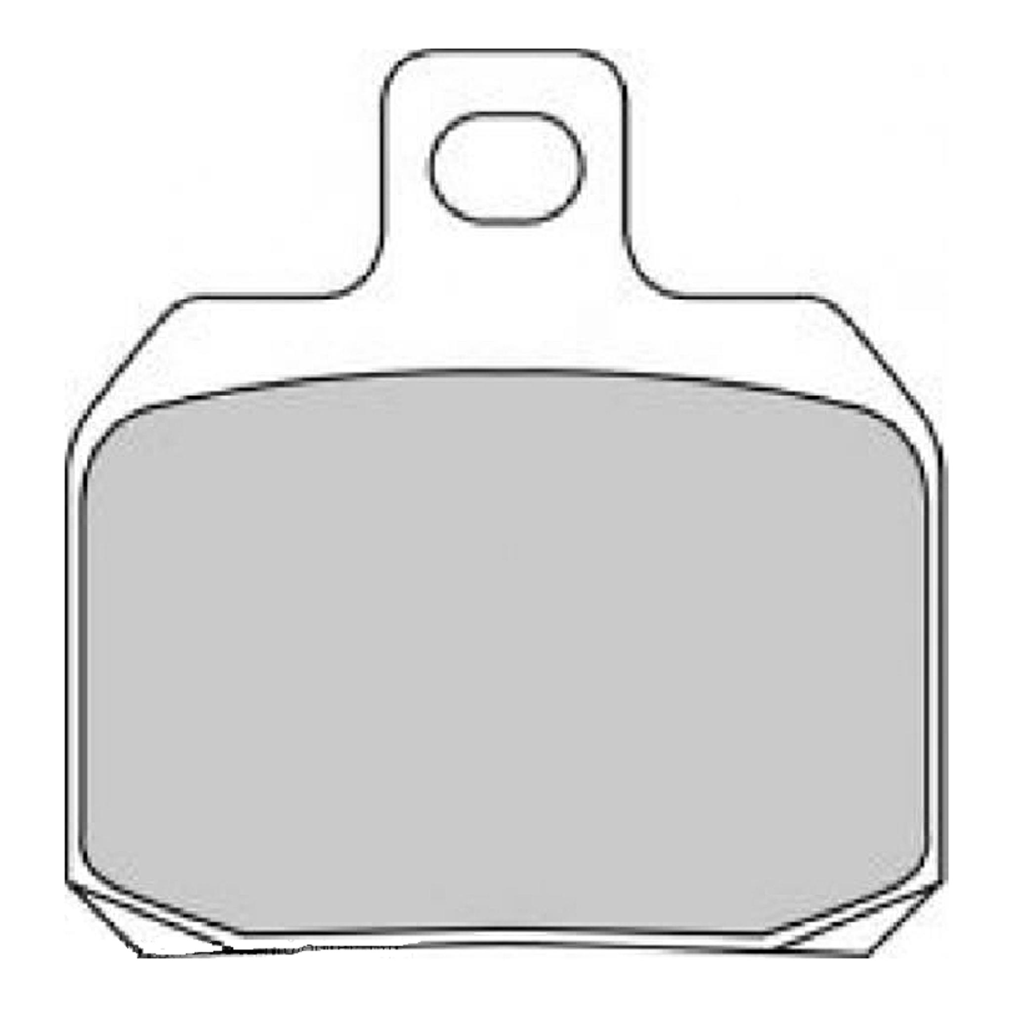 Тормозные колодки дисковые, FERODO(FDB2074P)