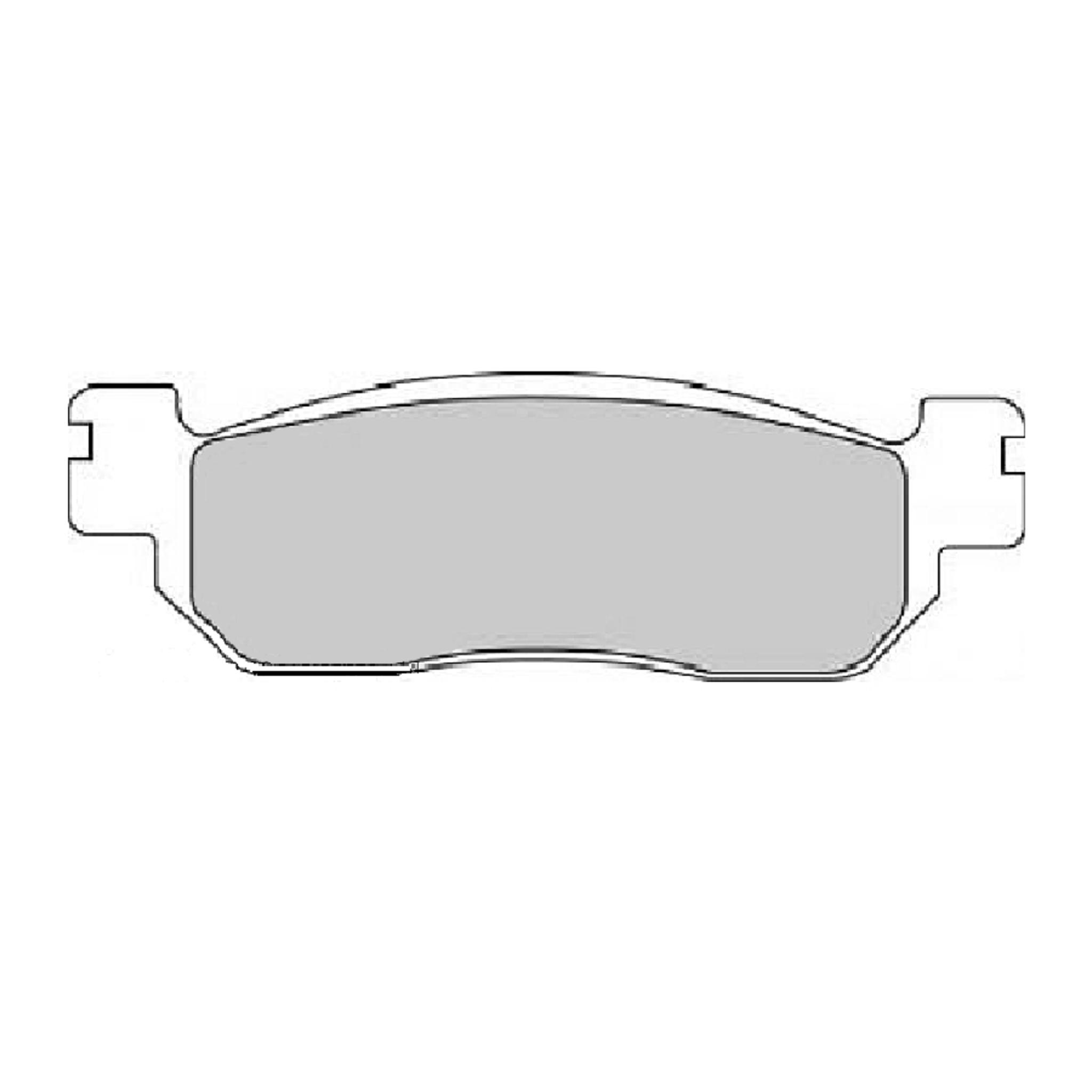 Тормозные колодки дисковые, FERODO(FDB2083P)