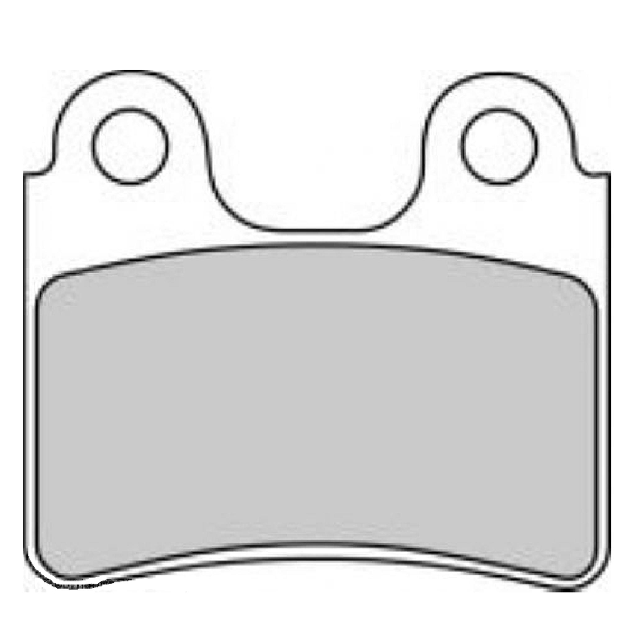 Тормозные колодки дисковые, FERODO(FDB2109P)