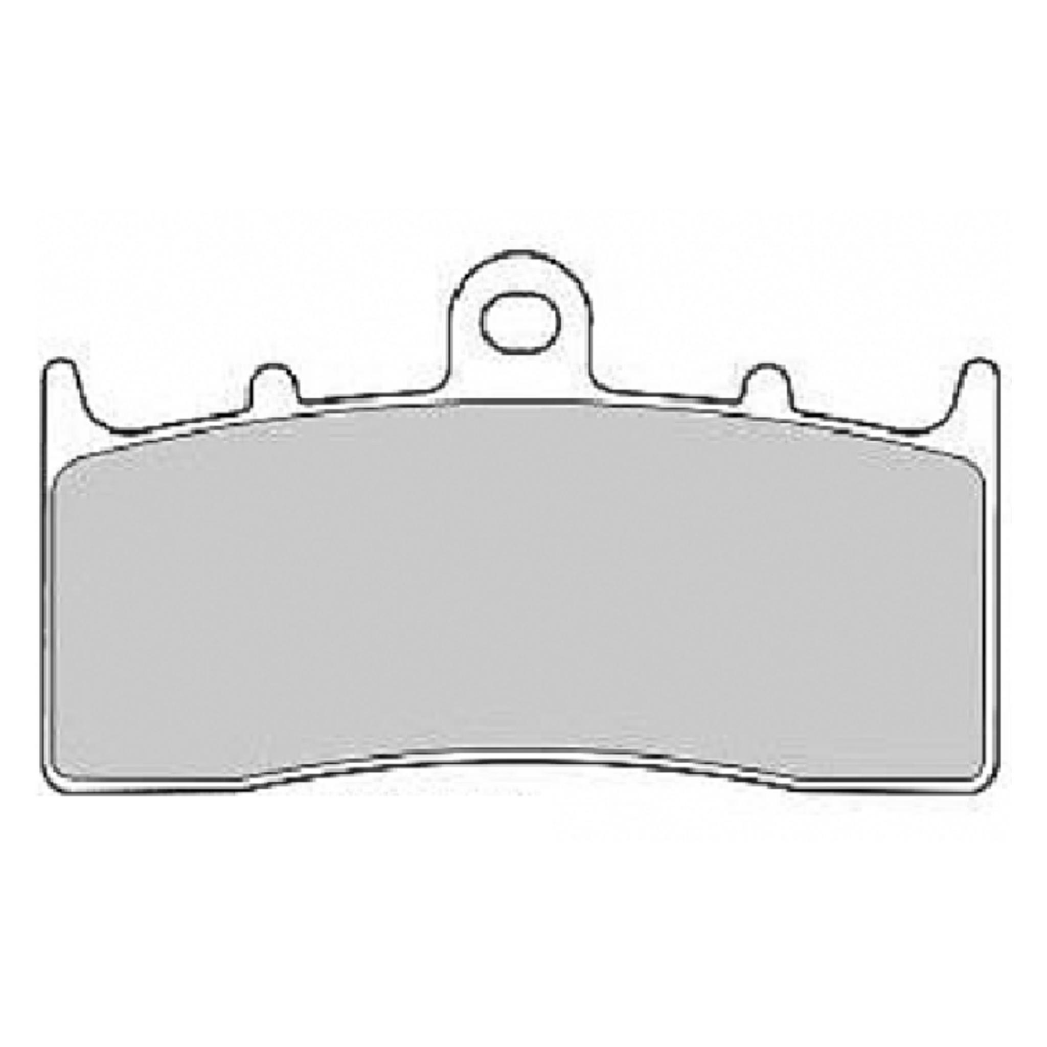 Тормозные колодки дисковые, FERODO(FDB2124ST)