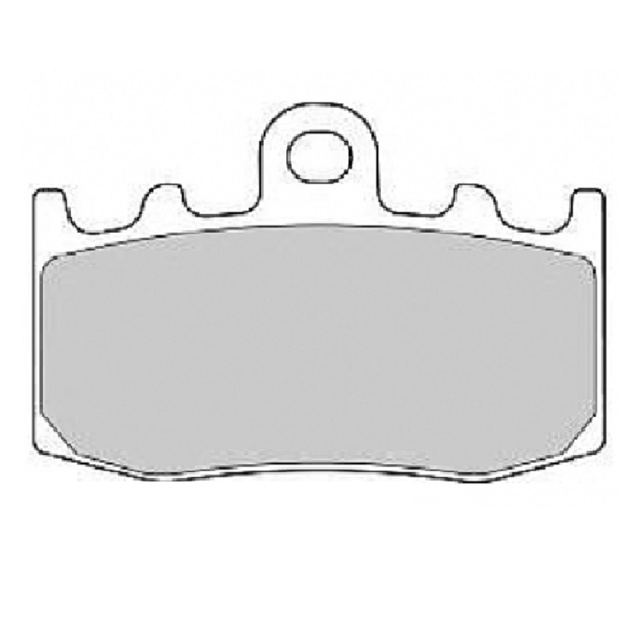 Тормозные колодки дисковые, FERODO(FDB2125ST)