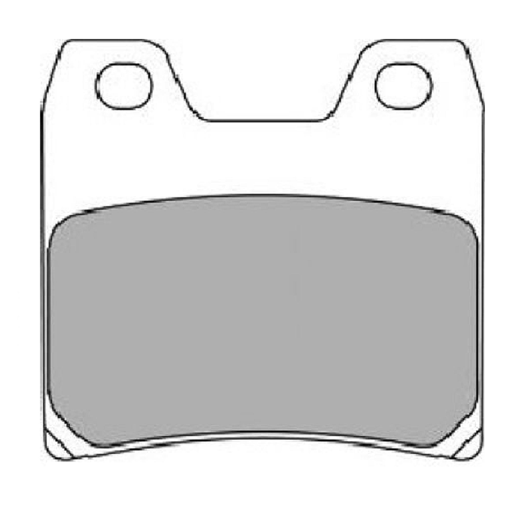Тормозные колодки дисковые, FERODO(FDB2150ST)