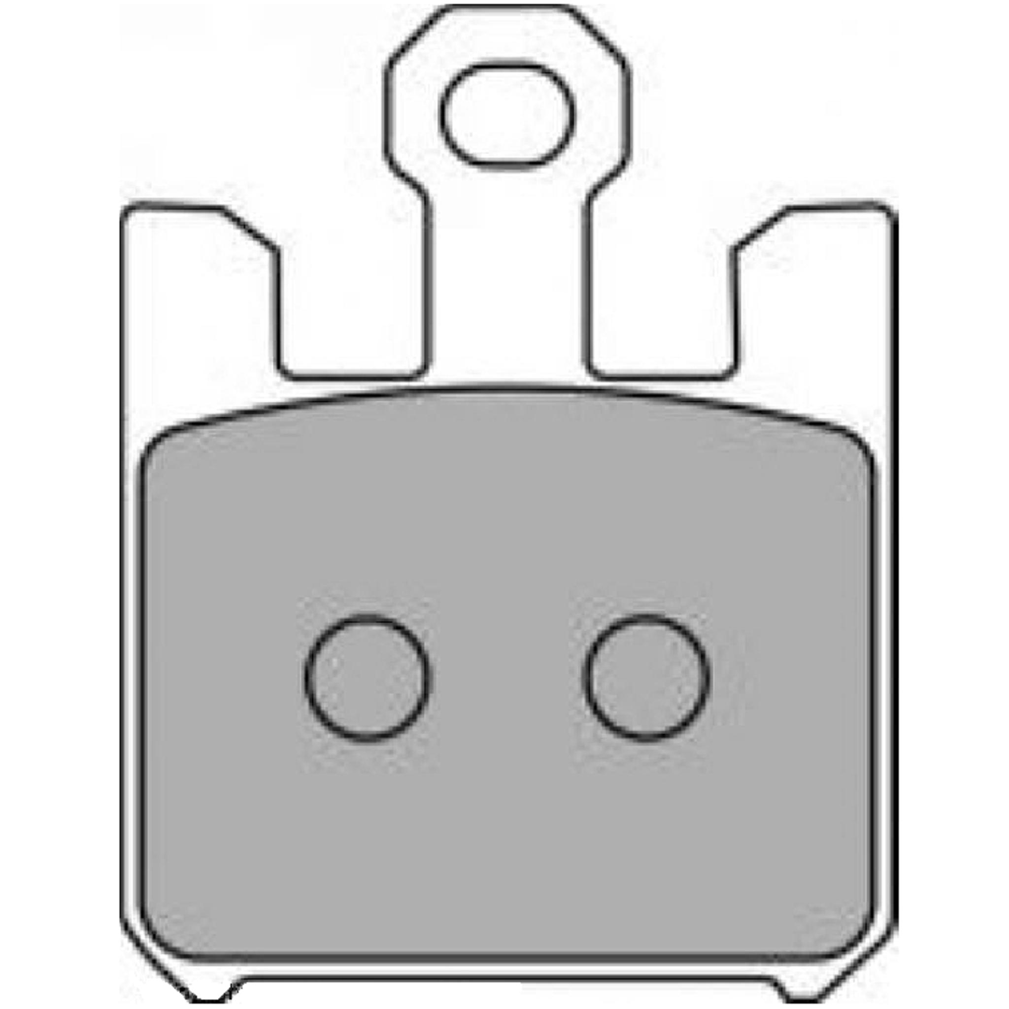 Тормозные колодки дисковые, FERODO(FDB2164ST)