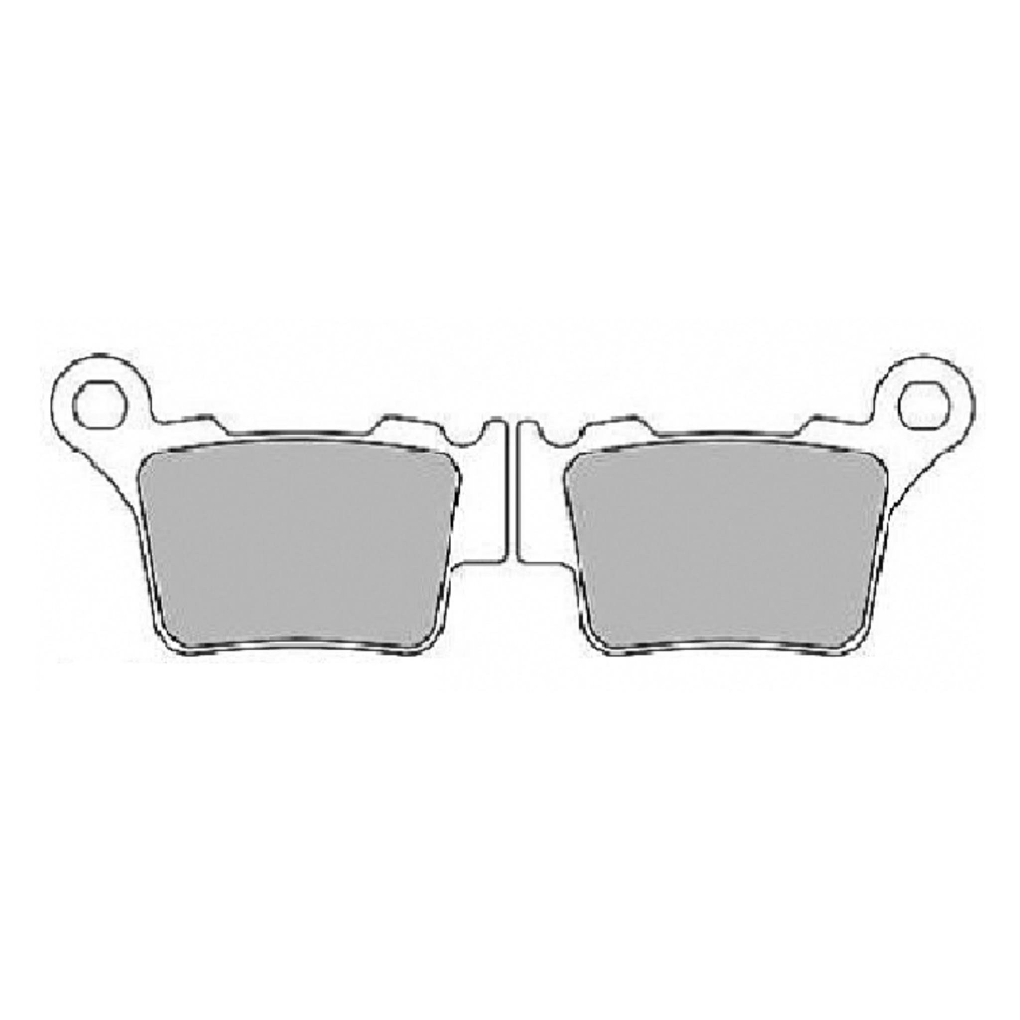 Тормозные колодки дисковые, FERODO(FDB2165P)