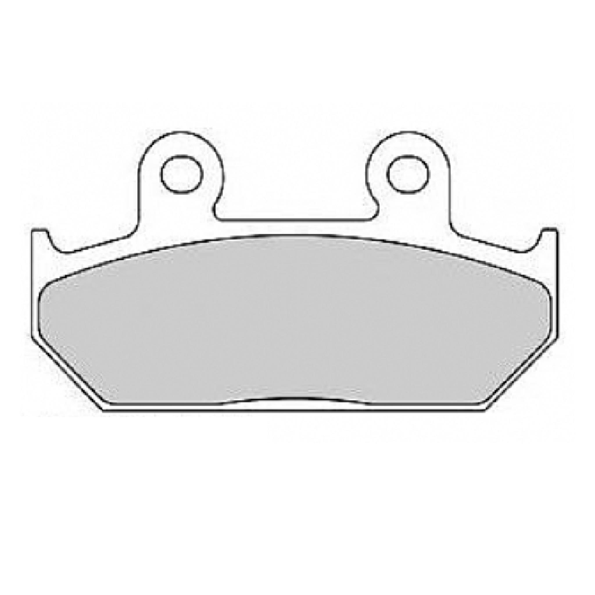 Тормозные колодки дисковые, FERODO(FDB2173ST)