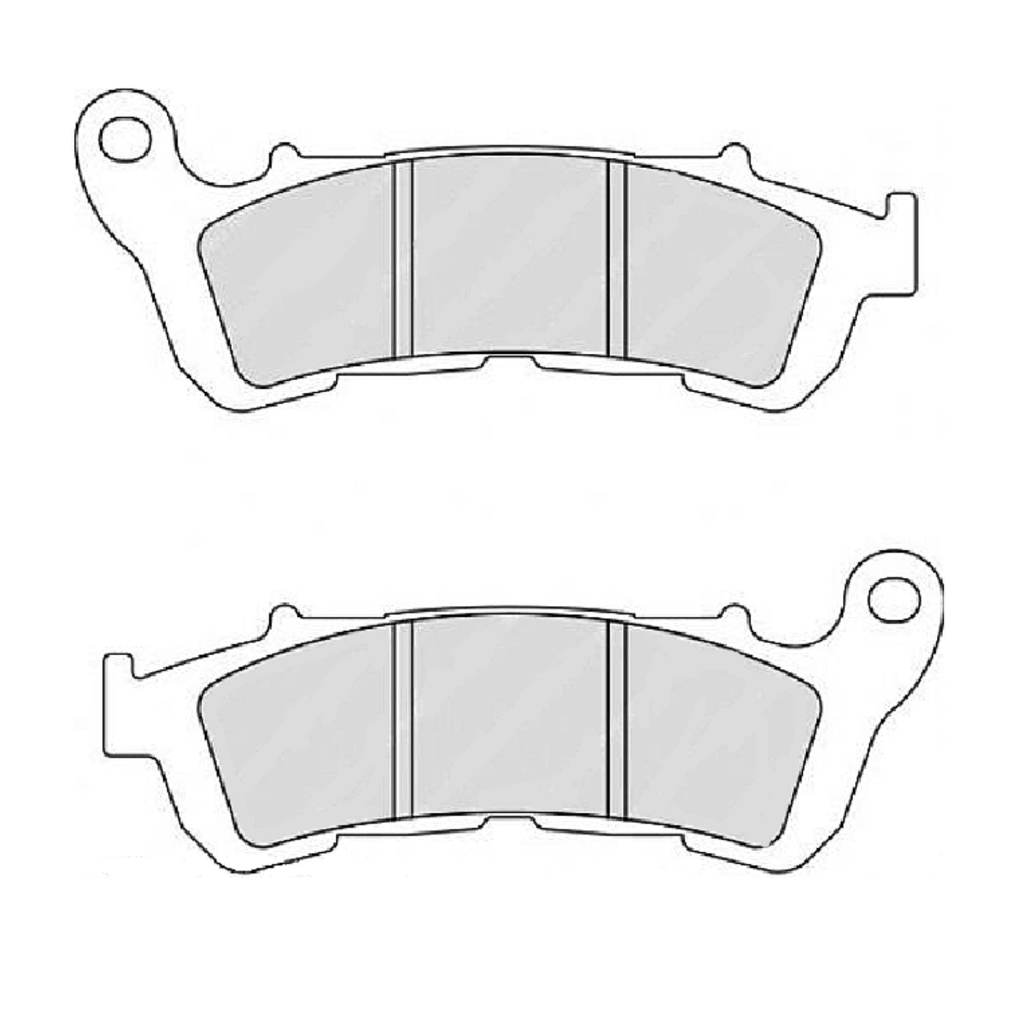Тормозные колодки дисковые, FERODO(FDB2196ST)