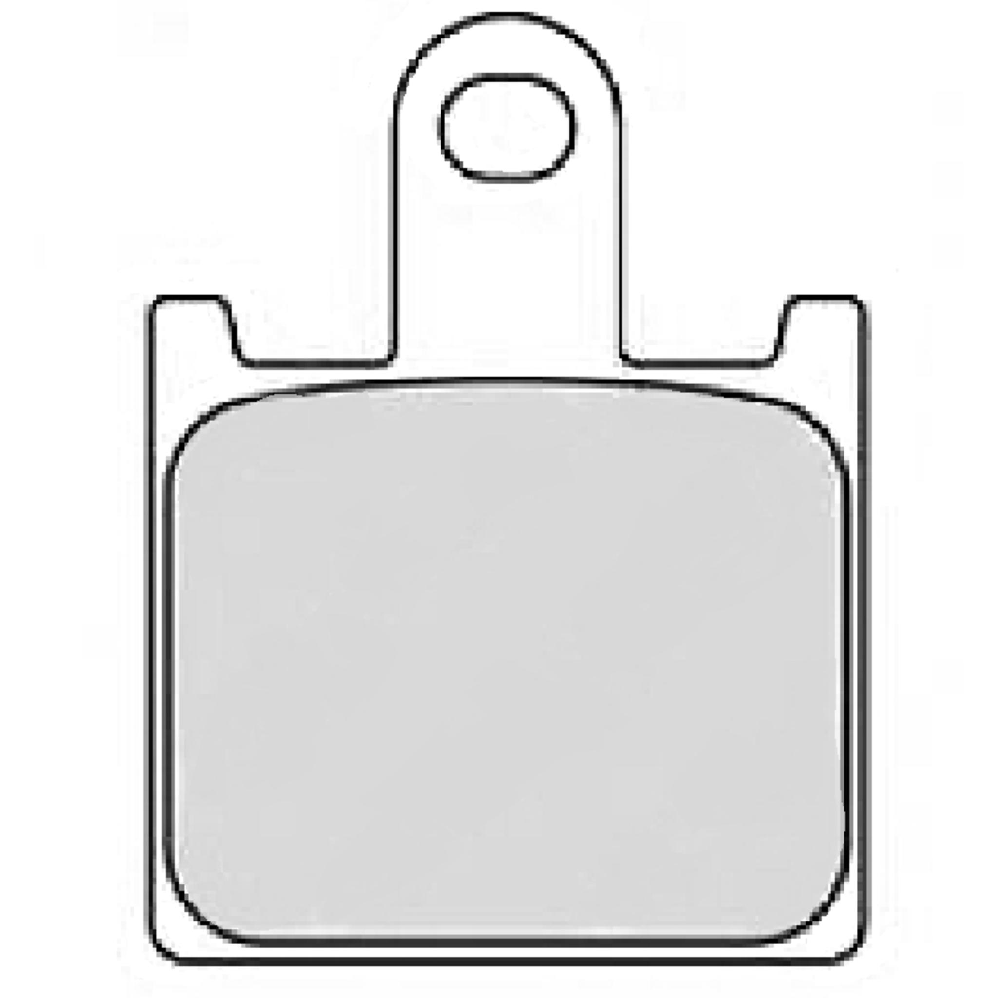 Тормозные колодки дисковые, FERODO(FDB2220ST)