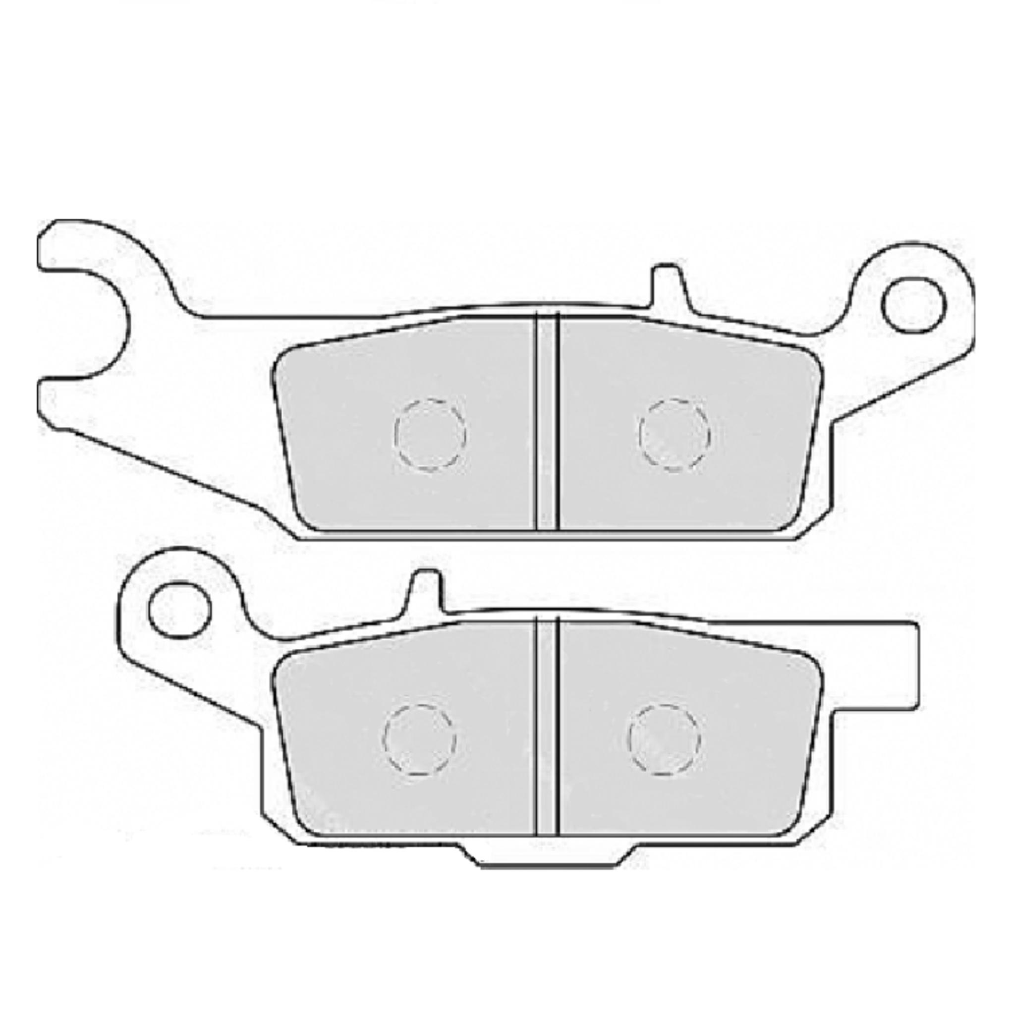 Тормозные колодки дисковые, FERODO(FDB2233SG)