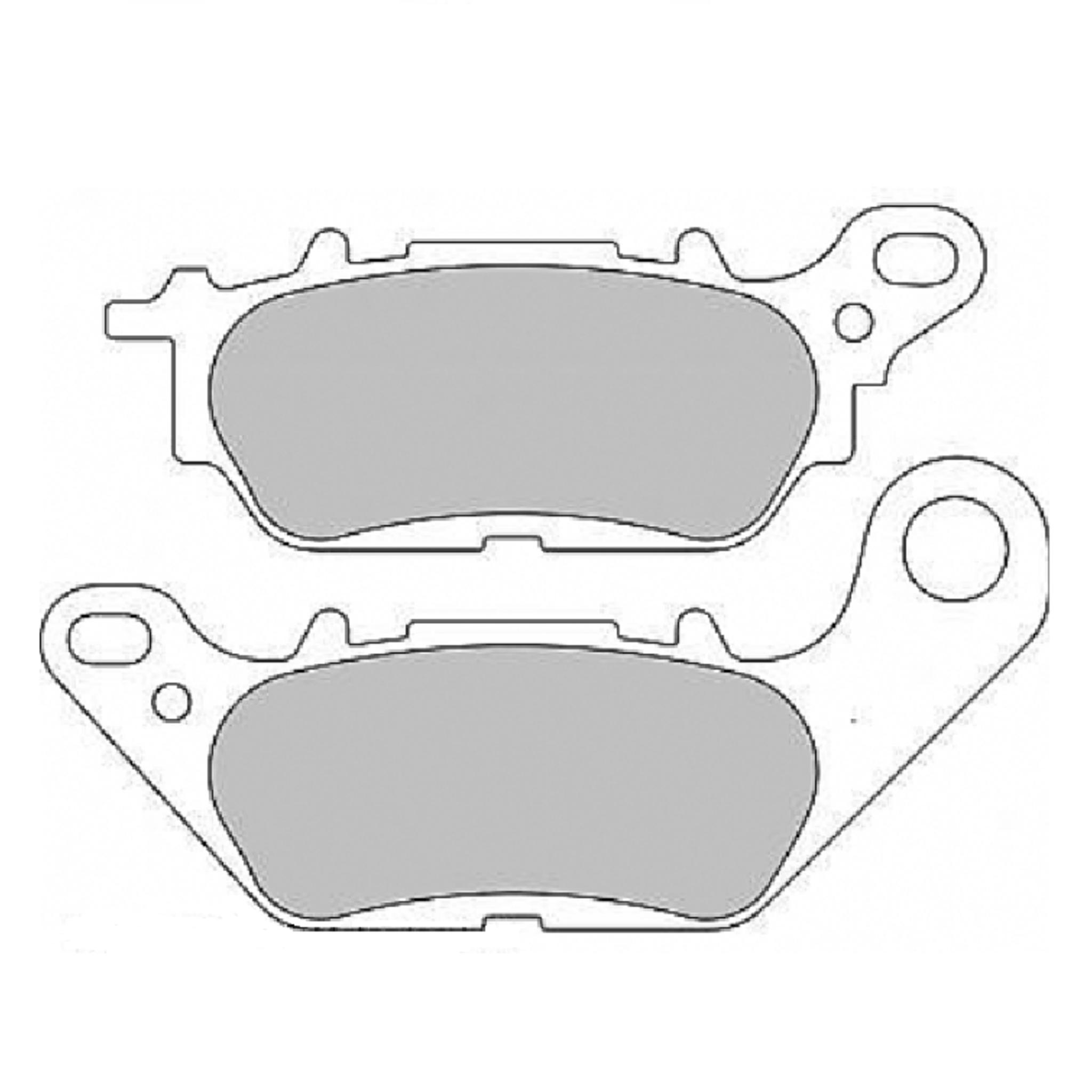 Тормозные колодки дисковые, FERODO(FDB2238P)