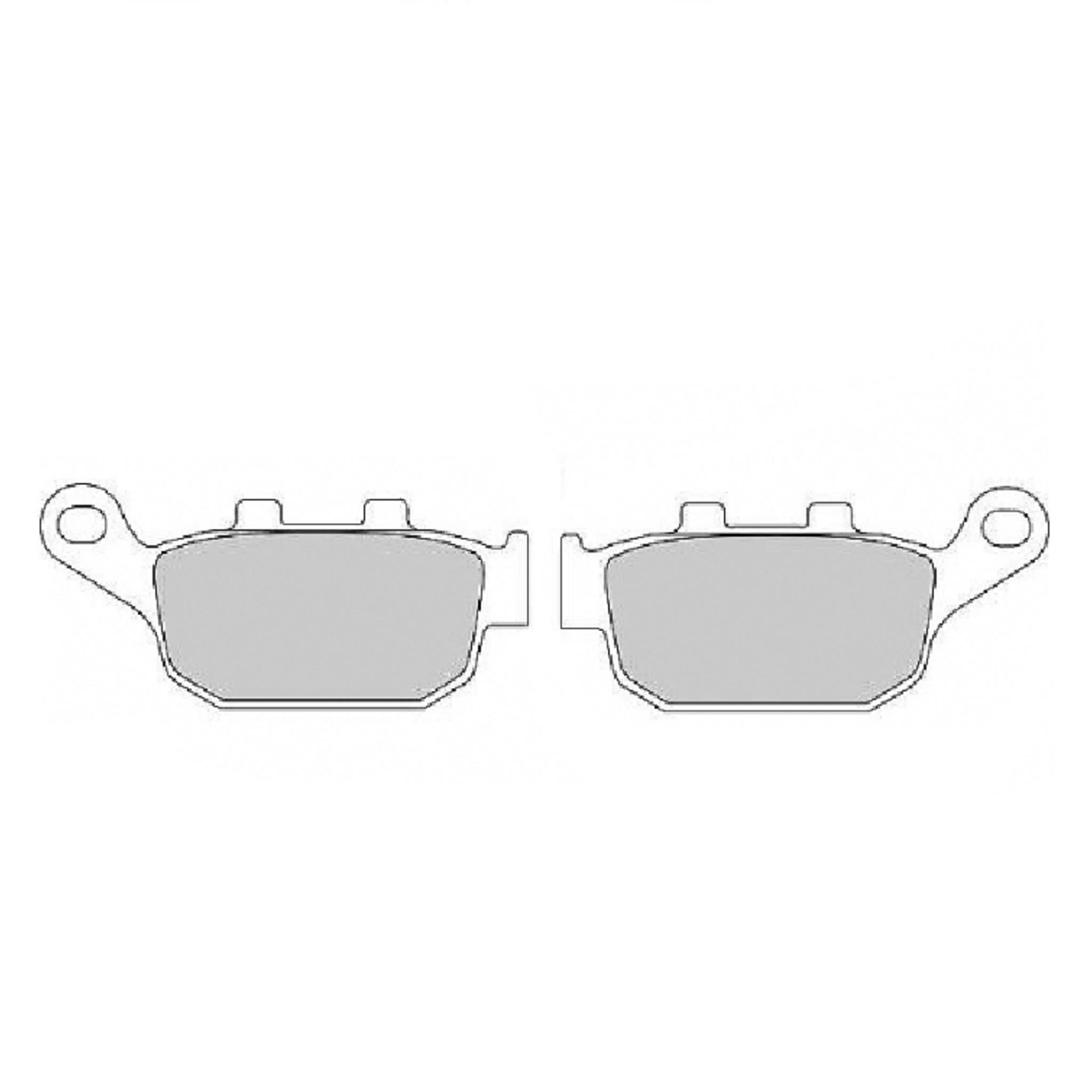 Тормозные колодки дисковые, FERODO(FDB2258ST)