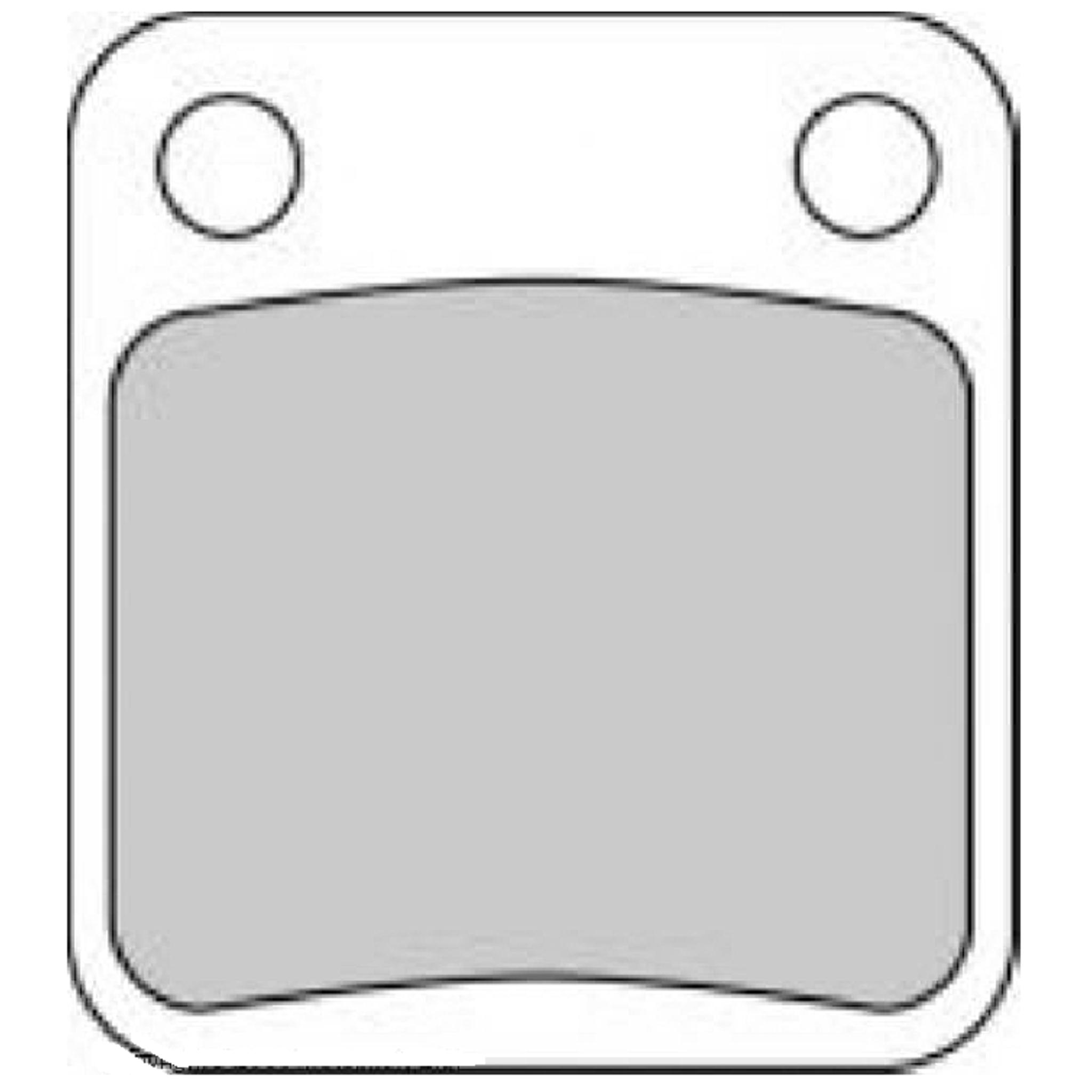 Тормозные колодки дисковые, FERODO(FDB250P)
