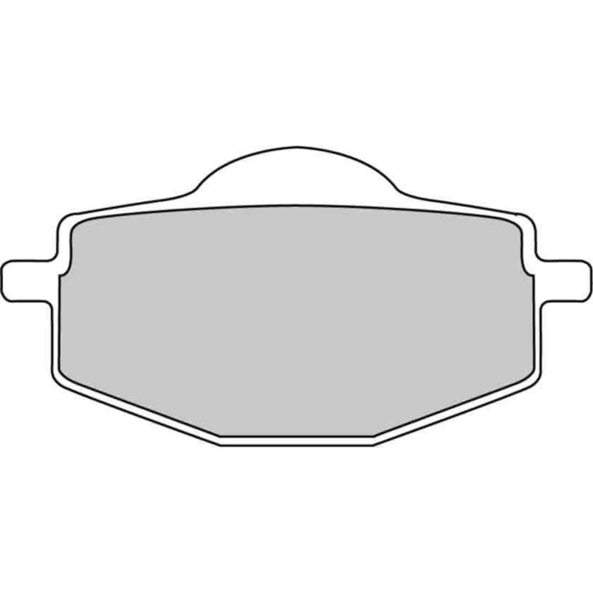 Тормозные колодки дисковые, FERODO(FDB383P)