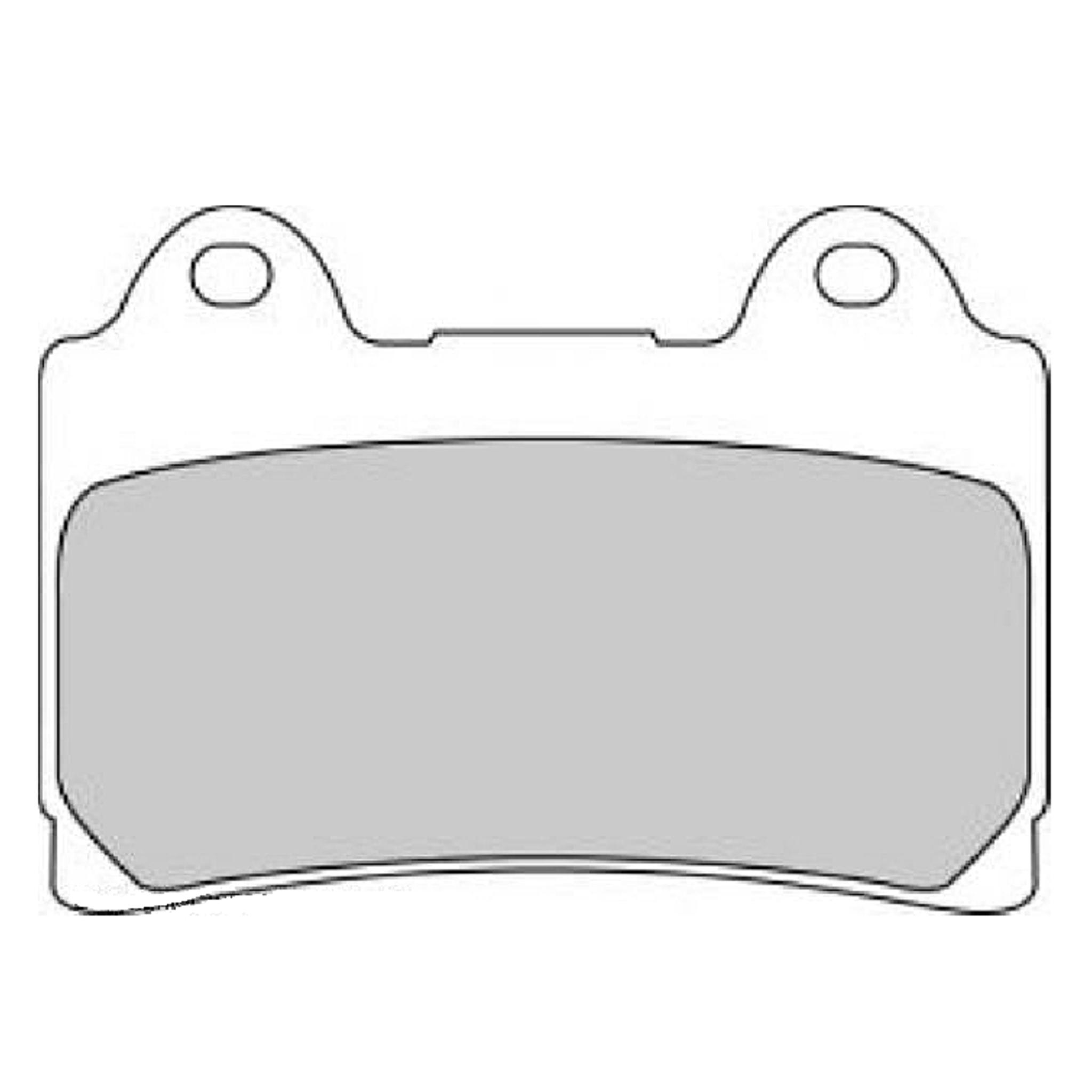 Тормозные колодки дисковые, FERODO(FDB449P)